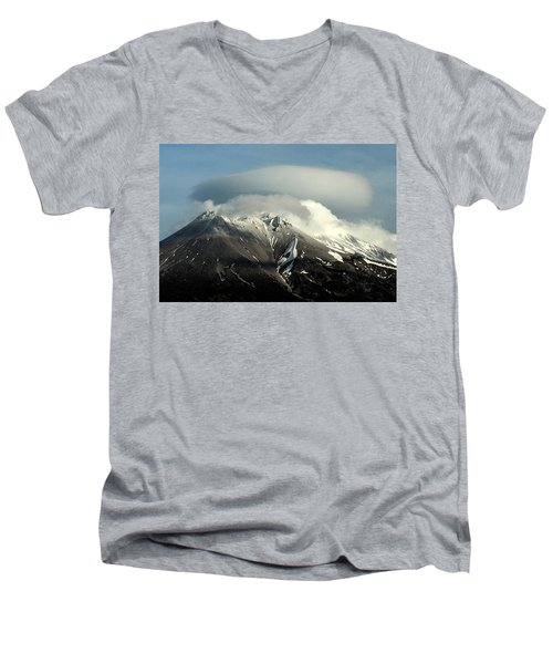 Shasta Lenticular 2 Men's V-Neck T-Shirt