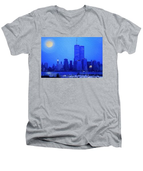 Silent Summer Men's V-Neck T-Shirt