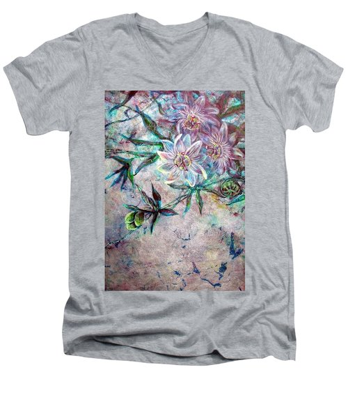 Silver Passions Men's V-Neck T-Shirt