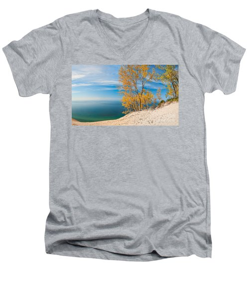 Sleeping Bear Dunes Vista 001 Men's V-Neck T-Shirt