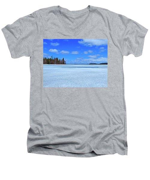 Solar Melt Men's V-Neck T-Shirt