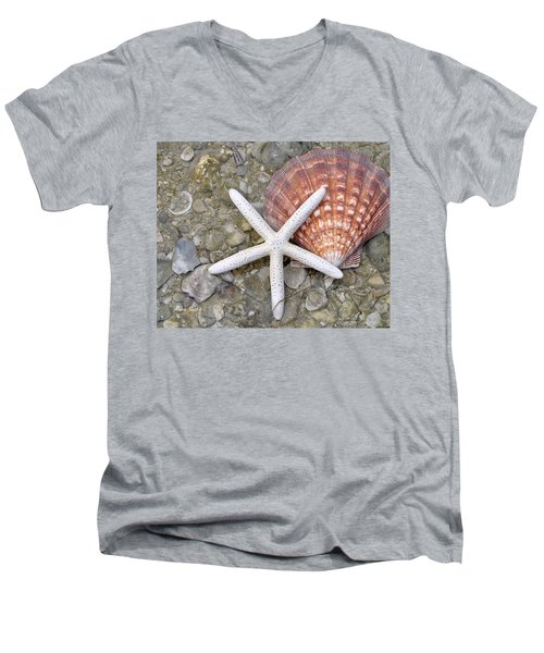 Spirit Of The Seashore  Men's V-Neck T-Shirt