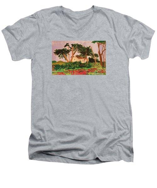 Spooner's Cove Men's V-Neck T-Shirt