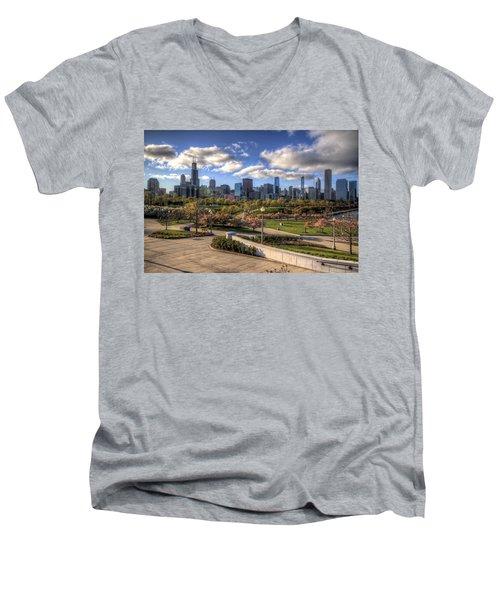 Spring Time Is Here Men's V-Neck T-Shirt