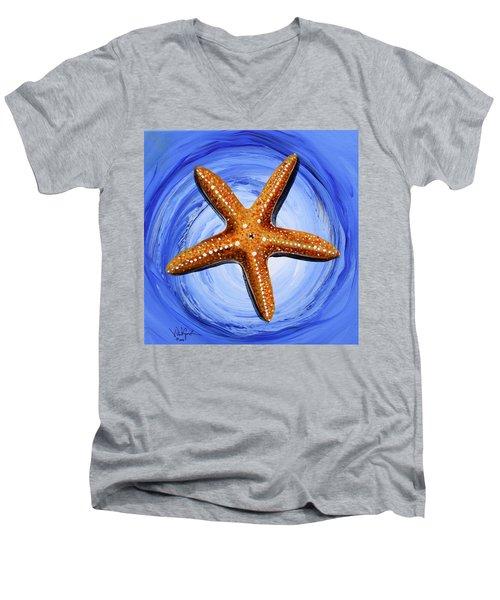 Star Of Mary Men's V-Neck T-Shirt