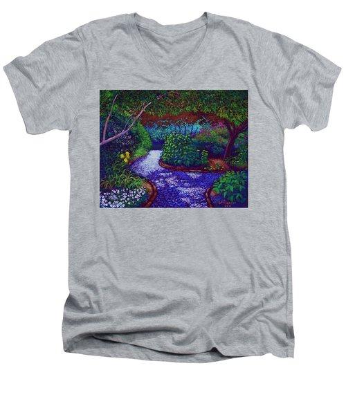 Southern Garden Men's V-Neck T-Shirt