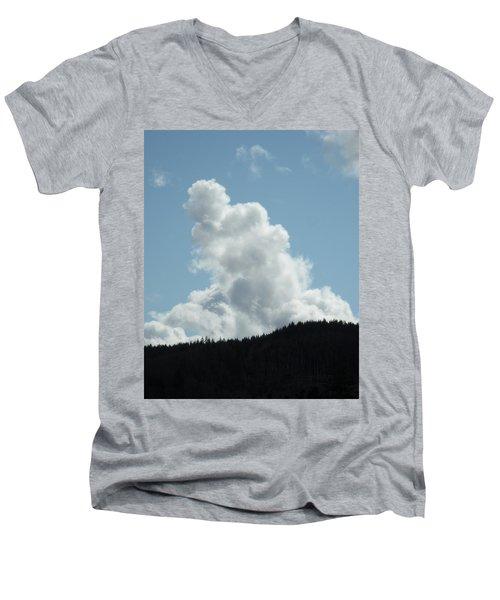 Statuesque Men's V-Neck T-Shirt