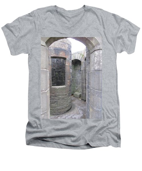 Stone Archwork Men's V-Neck T-Shirt