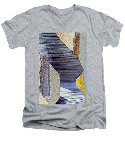 Stone Geometrics Men's V-Neck T-Shirt