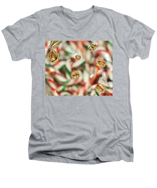 Sugar On Canes Men's V-Neck T-Shirt