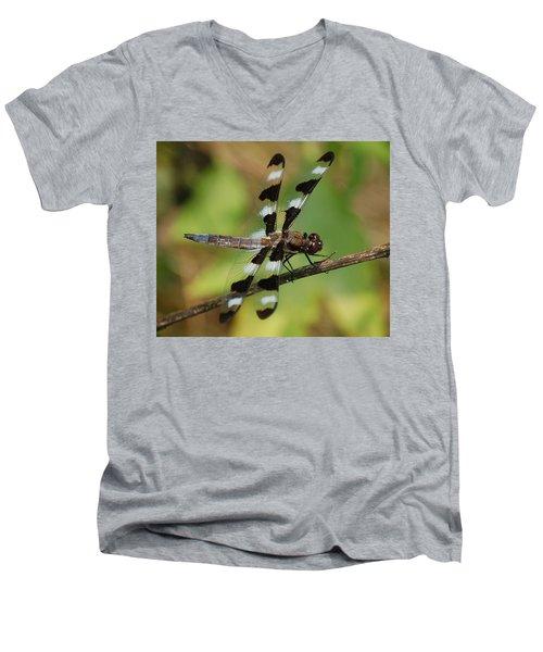 Summer Dragonfly Men's V-Neck T-Shirt