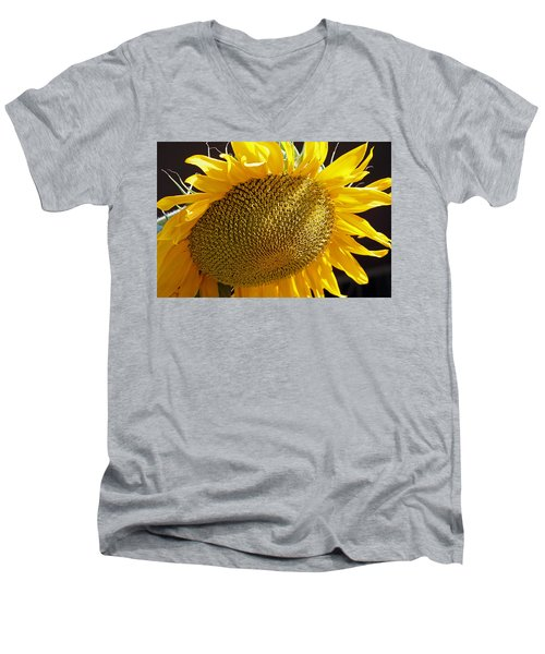 Sun Flower Men's V-Neck T-Shirt