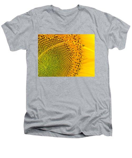 Sunflower Study 1 Men's V-Neck T-Shirt