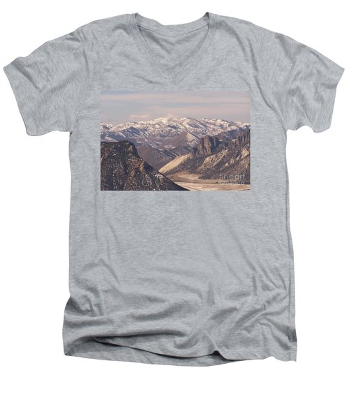 Sunlight Splendor Men's V-Neck T-Shirt