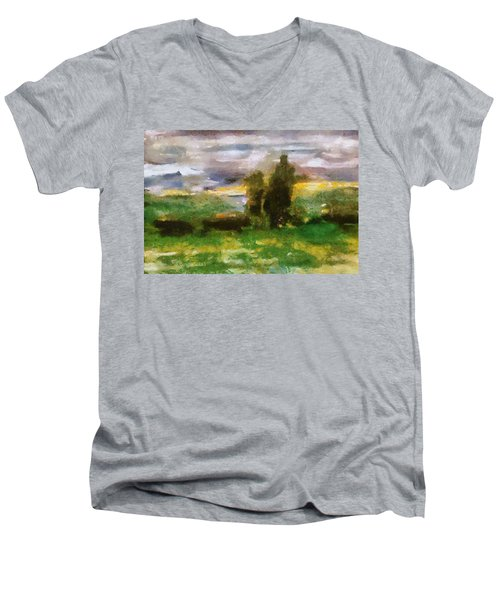 Sunset On The Road - The Highway Series Men's V-Neck T-Shirt
