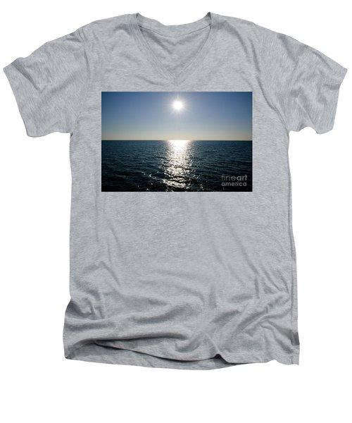 Sunshine Over The Mediterranean Sea Men's V-Neck T-Shirt