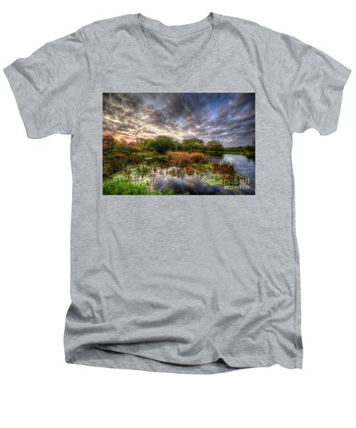 Swampy Men's V-Neck T-Shirt