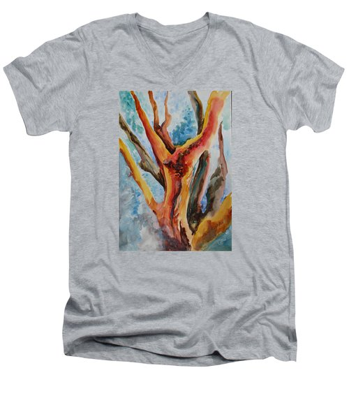 Symphony Of Branches Men's V-Neck T-Shirt