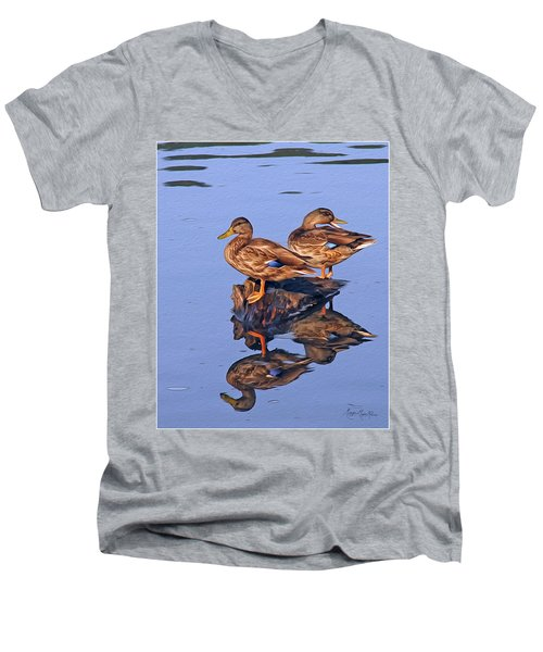 Tattle Tale Men's V-Neck T-Shirt