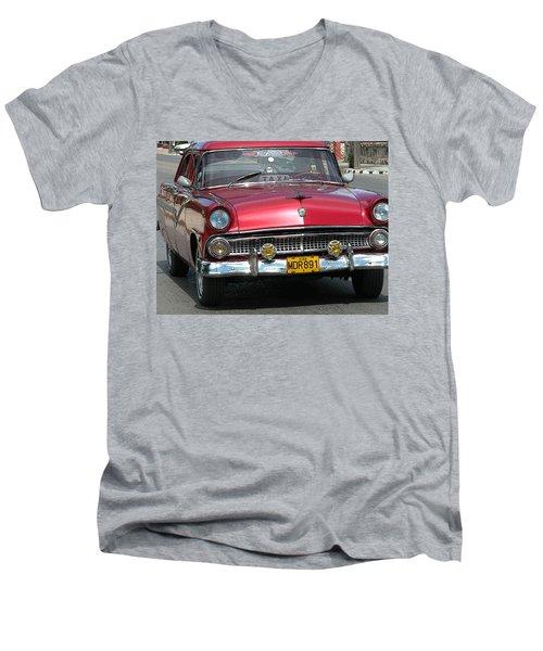 Taxi Men's V-Neck T-Shirt