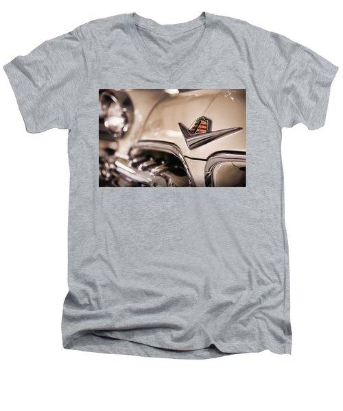 Men's V-Neck T-Shirt featuring the photograph The 1955 Dodge La Femme by Gordon Dean II