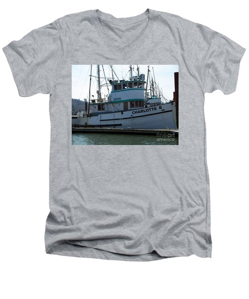 The Charlotte B Men's V-Neck T-Shirt