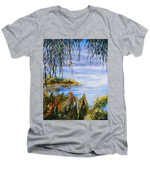 The Cove Men's V-Neck T-Shirt