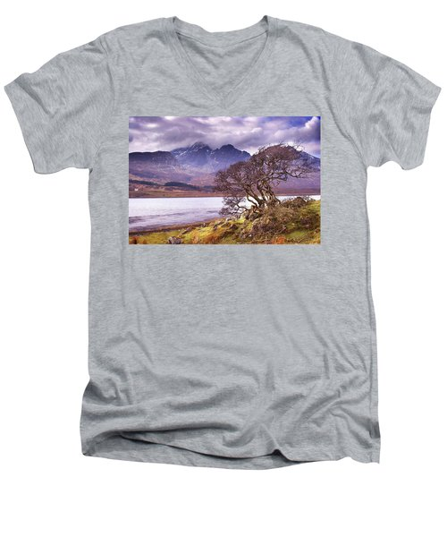 The Cuillins Skye Men's V-Neck T-Shirt