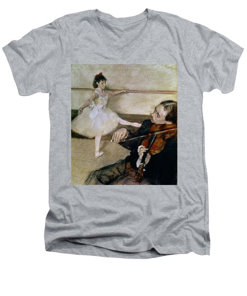 The Dance Lesson Men's V-Neck T-Shirt