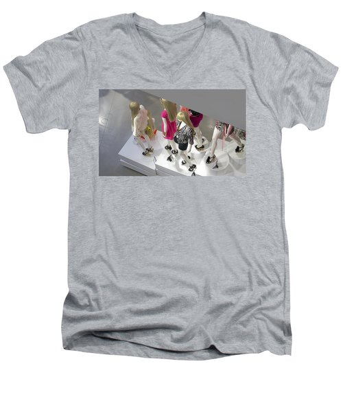 The Girls Men's V-Neck T-Shirt
