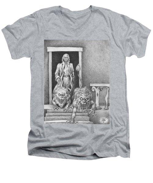 The Old Man's Dogs Men's V-Neck T-Shirt