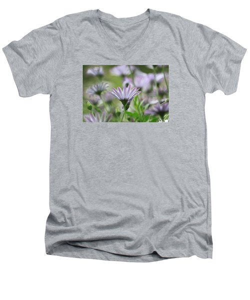 Men's V-Neck T-Shirt featuring the photograph The Only One by Amy Gallagher