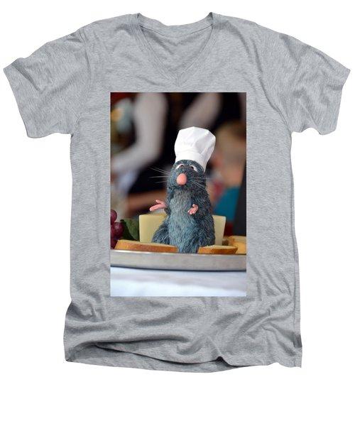 The Only Rat I Like Men's V-Neck T-Shirt