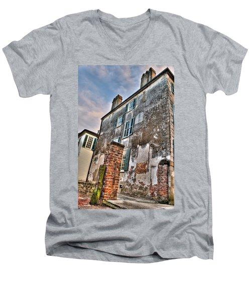 The Past Revealed Men's V-Neck T-Shirt
