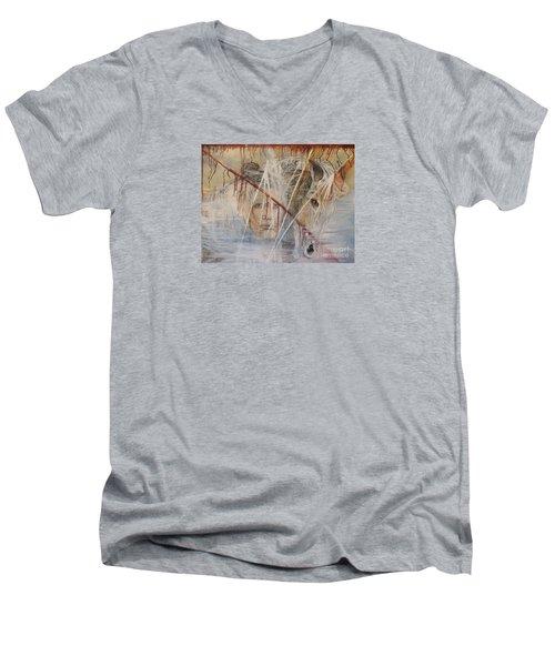 The Spirit Of Masauwu Men's V-Neck T-Shirt