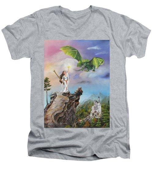 The Summoning Men's V-Neck T-Shirt