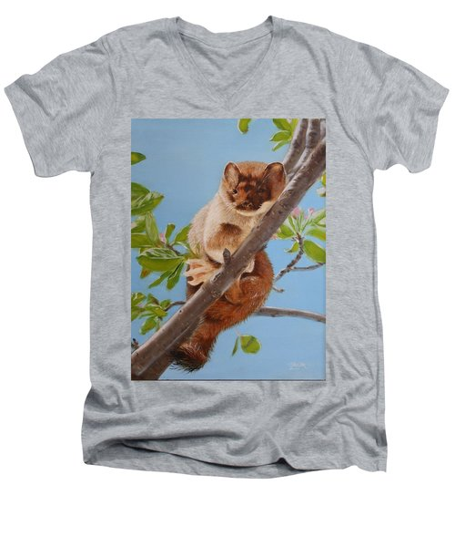 The Weasel Men's V-Neck T-Shirt