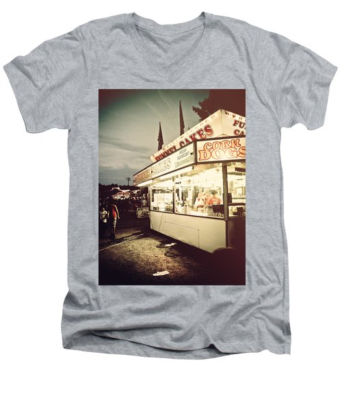 Those Were The Days Men's V-Neck T-Shirt