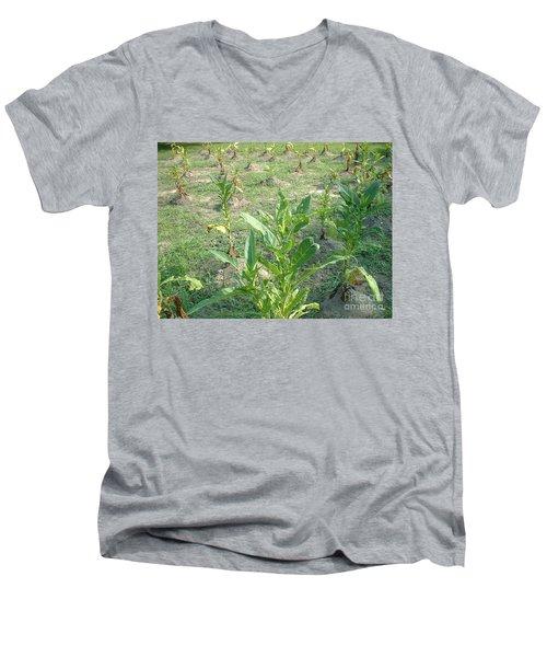 Tobacco Addiction Men's V-Neck T-Shirt