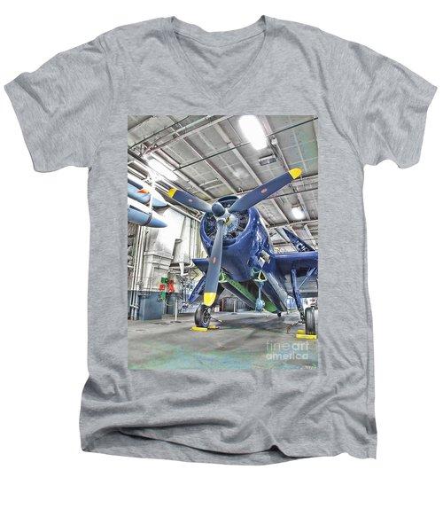 Torpedo Bomber Men's V-Neck T-Shirt
