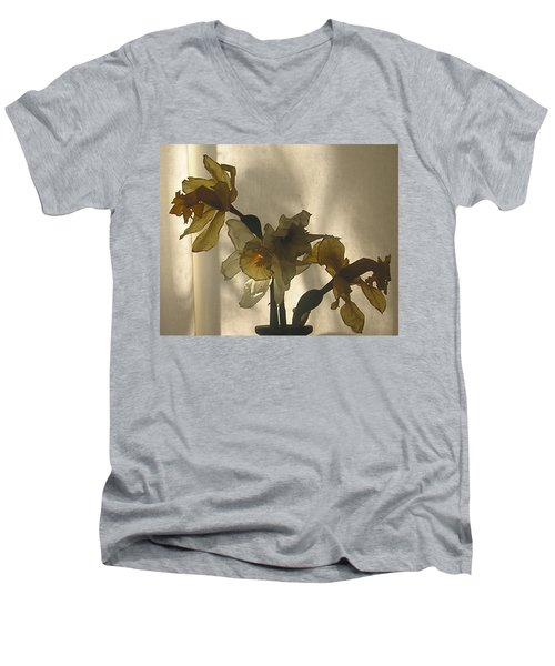 Translucent Men's V-Neck T-Shirt