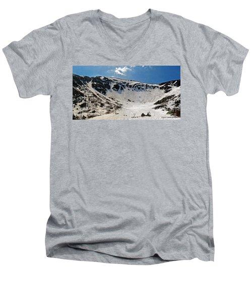 Tuckermans Ravine Men's V-Neck T-Shirt