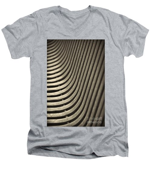 Men's V-Neck T-Shirt featuring the photograph Upward Curve. by Clare Bambers