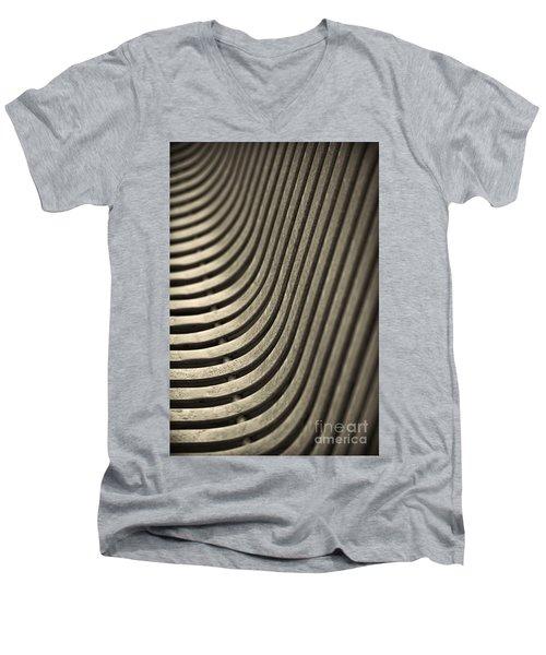 Upward Curve. Men's V-Neck T-Shirt