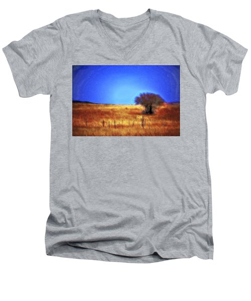 Valley San Carlos Arizona Men's V-Neck T-Shirt