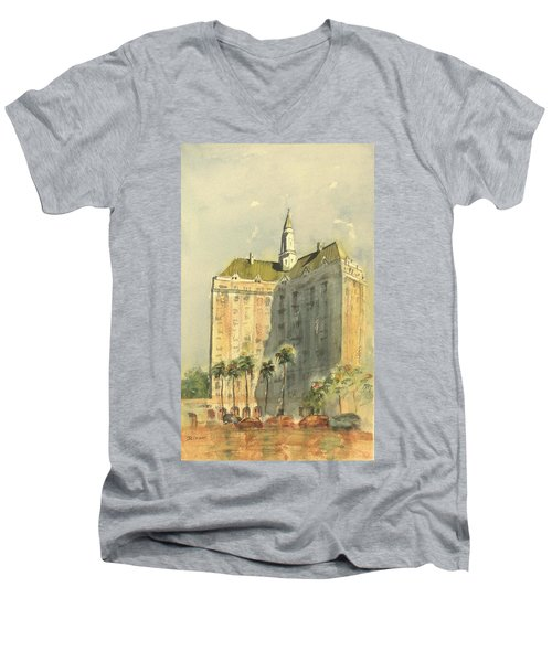 Villa Riviera Another View Men's V-Neck T-Shirt