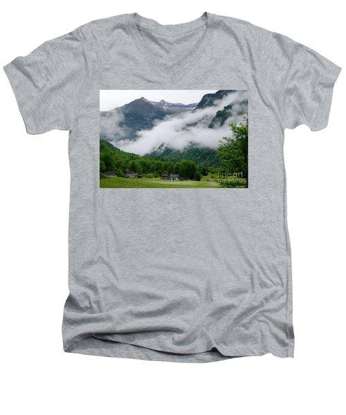 Village In The Alps Men's V-Neck T-Shirt
