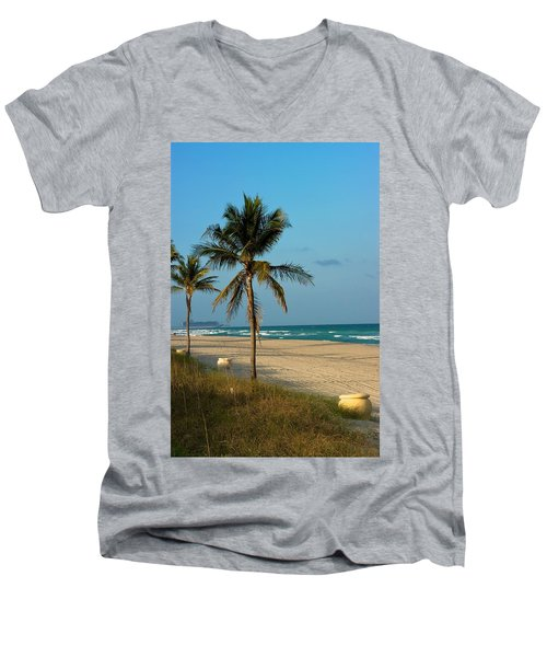 Men's V-Neck T-Shirt featuring the photograph Voyage by Joseph Yarbrough