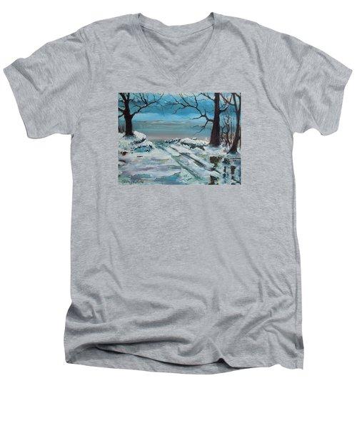 Washoe Winter Men's V-Neck T-Shirt