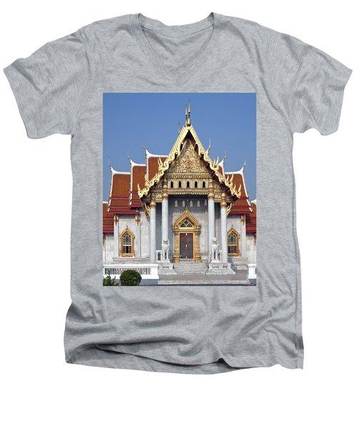Wat Benchamabophit Ubosot Dthb180 Men's V-Neck T-Shirt
